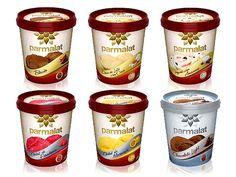 Parmalat sorvetes com novas embalagens desenvolvidas pela A10