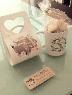 Ideas Gifts Box Packaging Mug Flower Packaging, Gift Box Packaging, Diy Gift Box, Diy Box, Diy Lip Balm, Diy Mugs, Diy For Men, Mug Printing, Mug Designs
