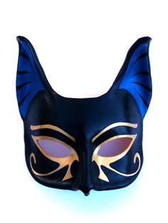 Bastet Leather Mask by Mr. Hyde's Leather in New Orleans, Louisiana