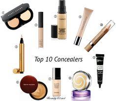 Top Ten Tuesday: Top 10 Concealers