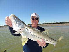 John Jenkins with a nice snook #snookfishing on www?reelmello.com