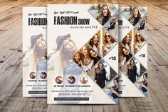 Fashion Show Flyer Template by Madhabi Studio on @creativemarket
