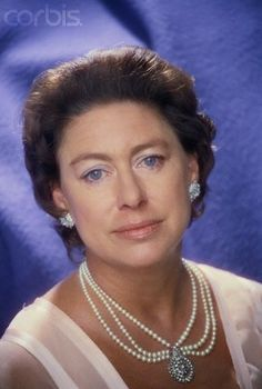 British Royal Family - Her Royal Highness Princess Margaret, Countess of… Lady Diana, Lady Sarah Chatto, Queen's Sister, Royal Jewelry, Jewellery, Margaret Rose, Prinz William, Casa Real, English Royalty