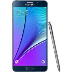 Buy Samsung N920C Factory Unlocked GSM Galaxy Note 5, 32GB - International Version (Black) REFURBISHED for 512.99 USD | Reusell