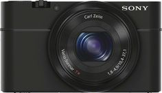 Sony Cyber-Shot DSC-RX100/B Camera w/Extras $398!