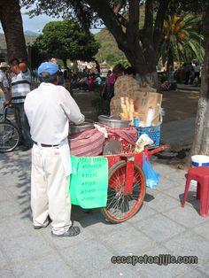 Ice cream vendor on the malecon in Chapala, Mexico.