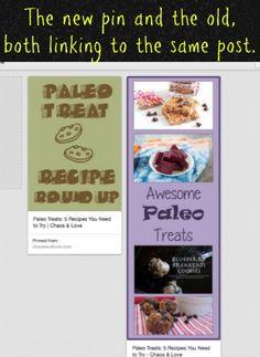 Switch Blog Post Images, Preserve Pinterest Links