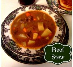 Sweet Tea and Cornbread: Irish Beef Stew