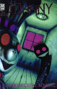 A cover gallery for the comic book Johnny the Homicidal Maniac Comic Book Artists, Comic Books, Johnny The Homicidal Maniac, Comic Book Collection, Creepy Art, Fun Comics, Comic Book Covers, Art Inspo, Horror