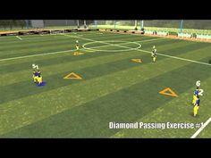 Diamond Passing Exercise