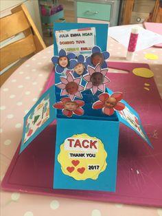 Popup card till förskolan:)
