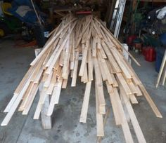 Building a Cedar Strip Canoe: The Details: Cutting and Milling the Strips