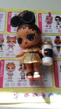 RARE LOL Surprise Boss Queen Doll Confetti Pop Series 3 Big Sister #4 #MGAEntertainment