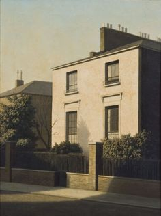 Algernon Cecil Newton (English, 1880-1968), Summer Afternoon in Bayswater. Oil on canvas, 24 x 18¼ in. (61 x 46.4cm.)