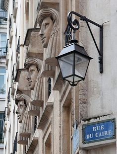 rue du Caire...TG The little side streets offer more of a realistic view of everyday France - TG