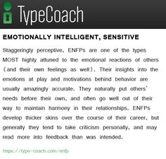 Staggeringly perceptive, ENFPs are one of the types MOST highly attuned to the emotional reactions of others (and their own feelings as well). Enfp And Infj, Enfj, Enfp Personality, Myers Briggs Personality Types, Teamwork Quotes, Leadership Quotes, Leader Quotes, Psychology Quotes, Emotional Intelligence