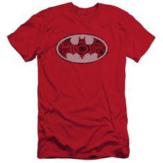 Batman - Rosey Signal Short Sleeve Adult 30/1