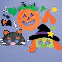 lionkitty10 kids activity pinterest animal masks paper and animals - Kids Halloween Masks
