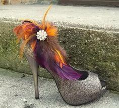 Bridal Shoe Clips - can you say FABULOUS?!