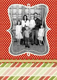 Summertime Designs: Christmas Card Templates