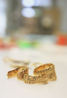 Anchovy Rings in the studio. Wedding Rings, Jewels, Engagement Rings, Studio, Jewellery, Food, Photography, Enagement Rings, Photograph