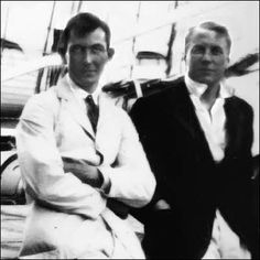 George Mallory and Andrew Irvine (photographed here during ... George Mallory And Andrew Irvine