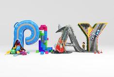 letras xbox entretenimiento 3D