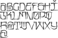 gangster tattoo fonts - Google Search