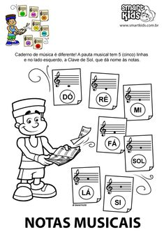 Notas Music Education Activities, Music Theory Worksheets, Playing Piano, Music School, Music For Kids, Music Classroom, Piano Lessons, Piano Music, Learn To Read