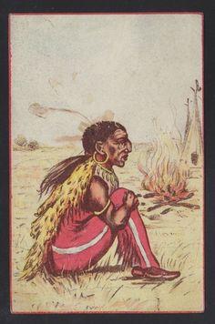 USA 1911 Artistic Native American Portrait Postcard Philadelphia to Jamestown | eBay