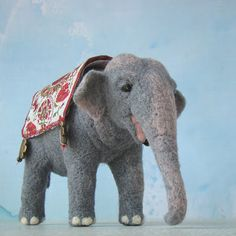 pepadana felting: elefant