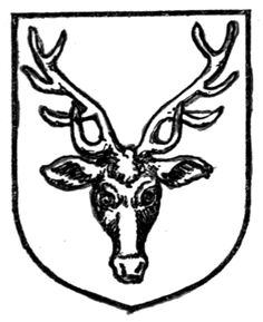 Fig. 385.—Stag's head caboshed. Date 	1909 Source 	A Complete Guide to Heraldry. Author 	 [show]Arthur Charles Fox-Davies oktouse