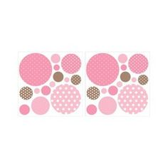 """Dots on Dots - Pink (12 x 12"""")"""