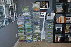 Coloca estantes de IKEA en mitad de esta habitación. La razón es GENIAL! #viral