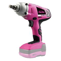 Cute Pink, Pretty In Pink, Pink Tool Box, Tools For Women, I Believe In Pink, Pink Power, Impact Wrench, Everything Pink, Cool Tools