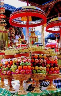 cherjournaldesilmara:  Bali offerings