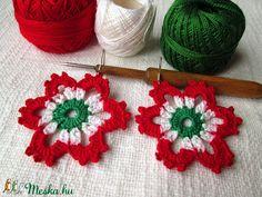 "Képtalálat a következőre: ""kokárda"" Crochet Earrings, Jewelry, Fashion, Jewellery Making, Moda, Jewerly, Jewelery, Fashion Styles, Jewels"