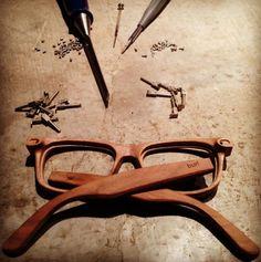 Burl wooden eyewear