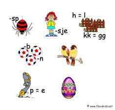 Lente rebus Quiz, Brain Breaks, Preschool Worksheets, Starters, Snoopy, Kids, Van, Internet, Crowns