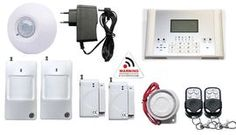 Kotihälytin, hälytinjärjestelmä GSM Pro