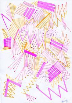 Random Sketches 2014 | Blinkblink Patterns