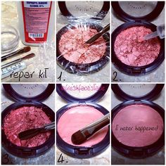Stop wasting your hard earned money, and go fix your broken makeup!