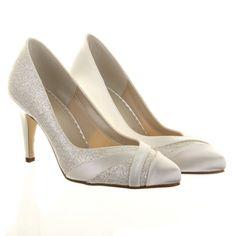 Mila Rainbow Club high heel Wedding Shoe wide fit