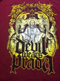 The Devil Wears Prada T Shirt Xtra Large Metalcore Music Band XL Shirt #FruitOfTheLoom #GraphicTee