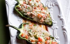 Hot Peppers stuffed with mouth watering goodness