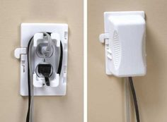Great For Foolproof Baby-proofing  Kidco Outlet Plug Cover  Price: $6.52 & FREE Shipping and Free Returns.  Keeps electrical plugs hidden from children  Helps shorten the cords to prevent accidents  Works on both standard and decora style outlets  Ideal for home office use  Baby proofing protection for your plugged ins  › See more product details http://www.everythingkids.co/tips-for-foolproof-baby-proofing/
