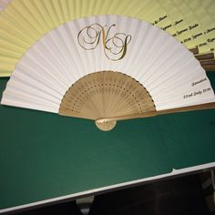 Personalised Wedding Fans Favours Bespoke For Any And All Occasions Our Prices Service Superior Qual