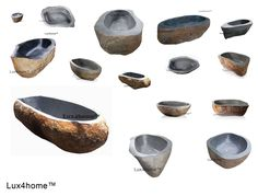 Indonesia Bali Stone #Bathtubs for sale. The price #stone #bathtub depends on the size, place of delivery. Stone bathtubs UK, Stone Bathtubs Canada, Stone Bathtubs USA we deliver around the world. More informations about our stone bathtubs for sale prices: www.Lux4home.com  We have the best service of natural stone tubs. We guarantee the lowest price for stone baths. We are looking for business partners - stone bathtubs #importers.  #stonebathtub #stonetubs #stonebathtubs #riverstone