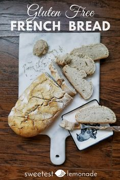 Gluten free, real food, french bread, easy bread recipes, gluten free bread, family friendly
