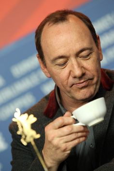 Kevin Spacey amazed at how unique and complex Simply Decadent is. Another handcrafted delight roasted by Cup of Luxury.